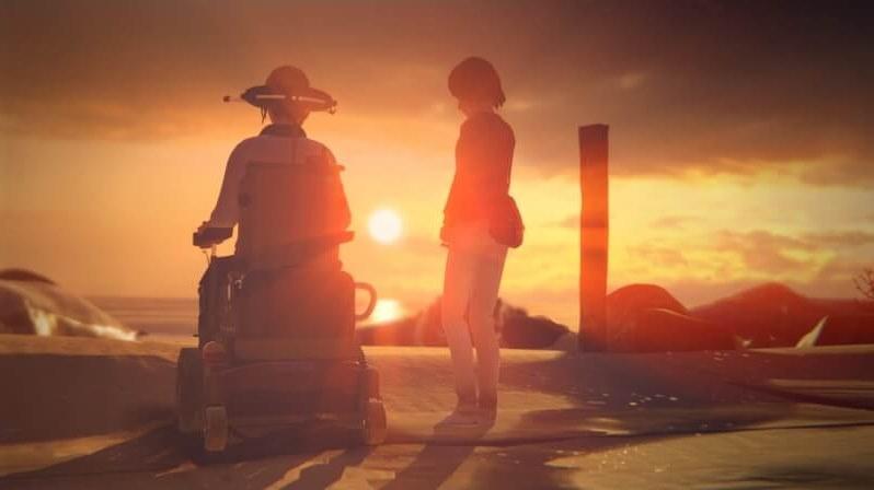 Max erschafft eine Welt, in der Chloe im Rollstuhl sitzt. ©Square Enix