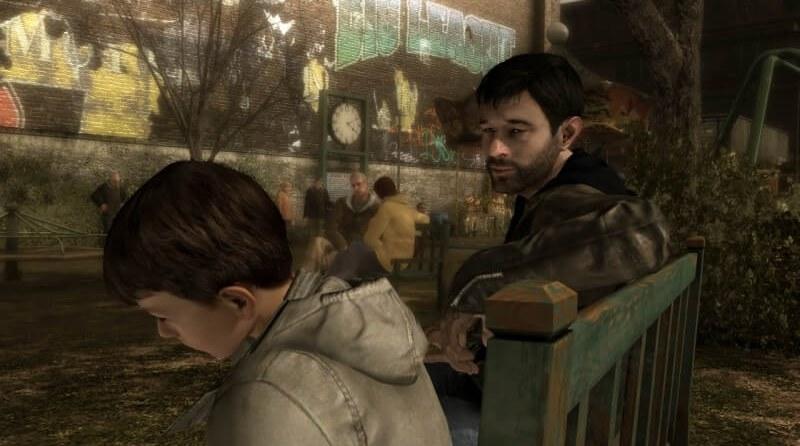 Ethan will seinen Sohn unbedingt retten. ©Sony Computer Entertainment