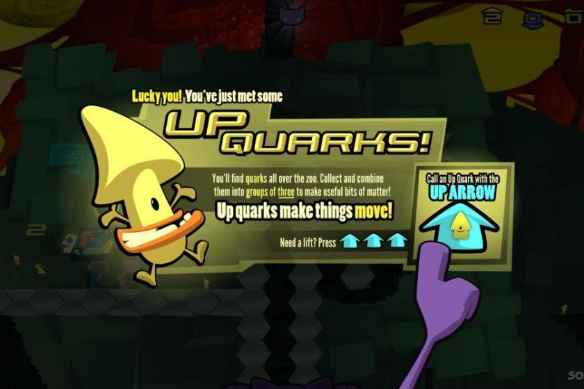 Die kleinen Quarks helfen bei der Mission.