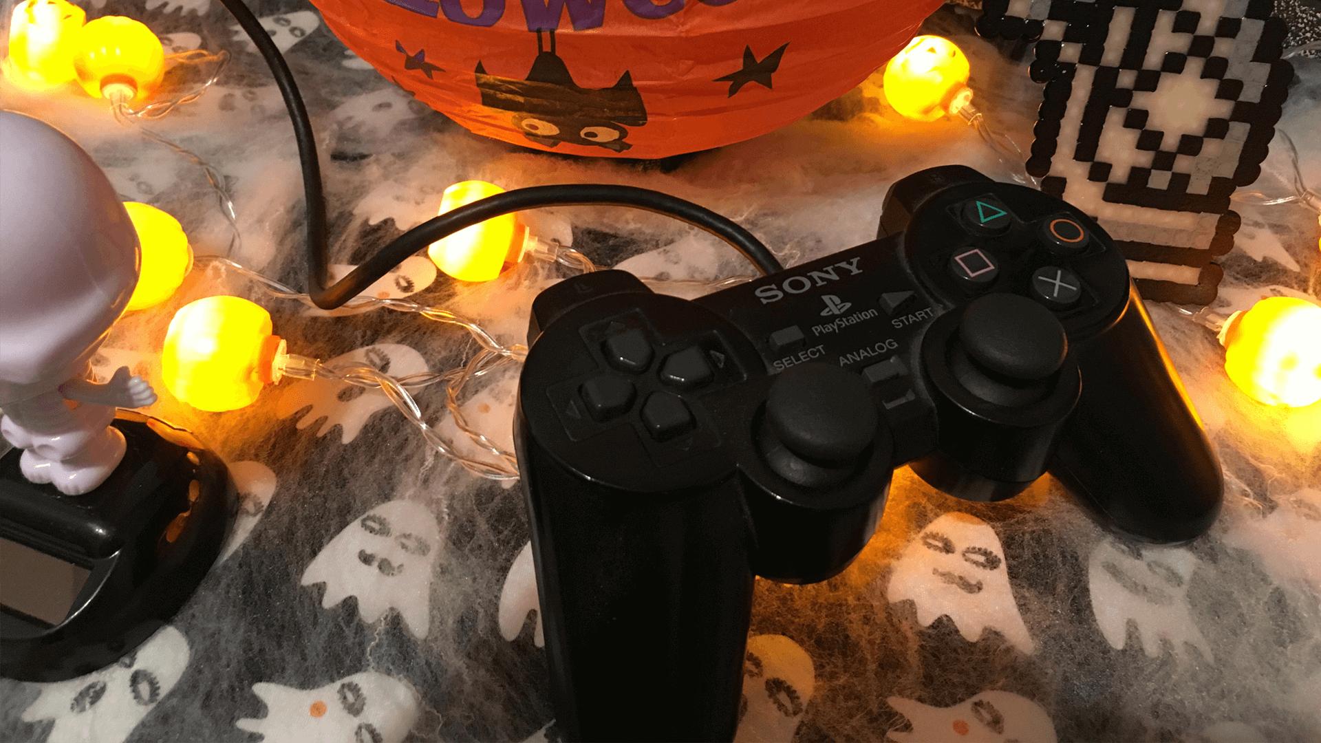 feiertags spiele halloween screaming pixel. Black Bedroom Furniture Sets. Home Design Ideas