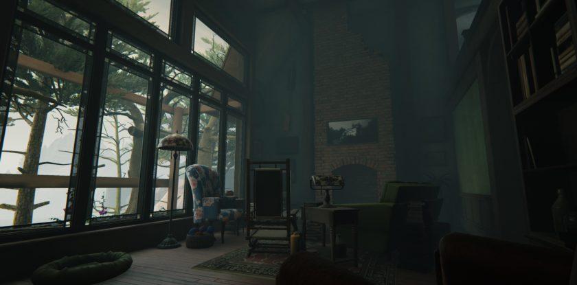 Edith durchforstet das alte Anwesen. ©Giant Sparrow