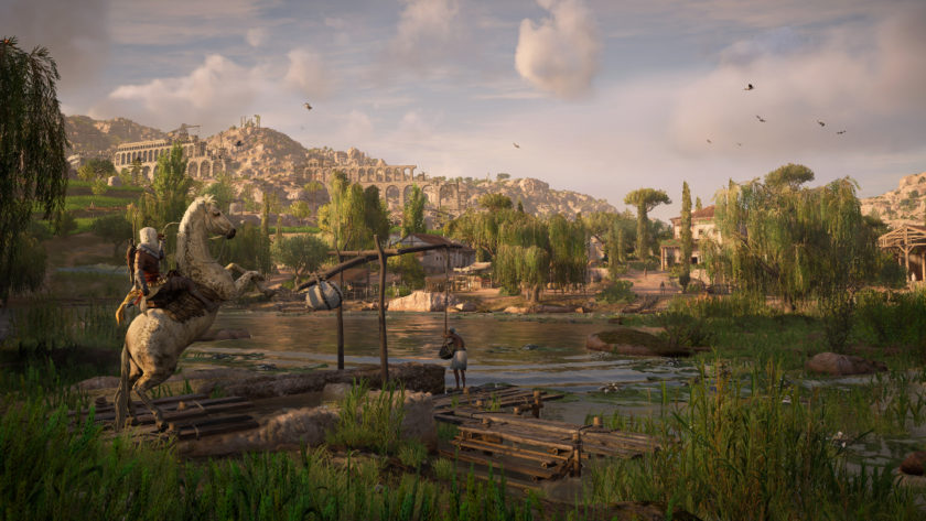 Clemens freut sich am Meisten über die Rückkehr der Assassins Creed Reihe. ©Ubisoft