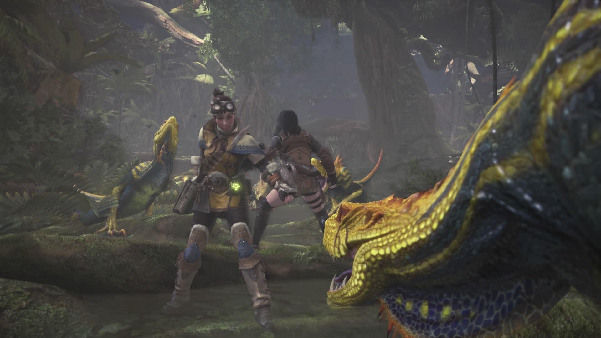 Gefahren im Tutorial von Monster Hunter World