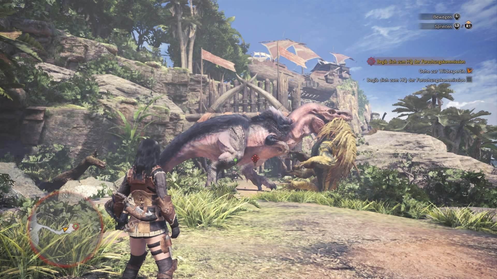 Das dynamische Ökosystem in Monster Hunter World