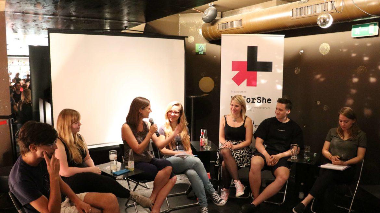 Drei Fragen aus der Diskussion Gaming Girls in Wien
