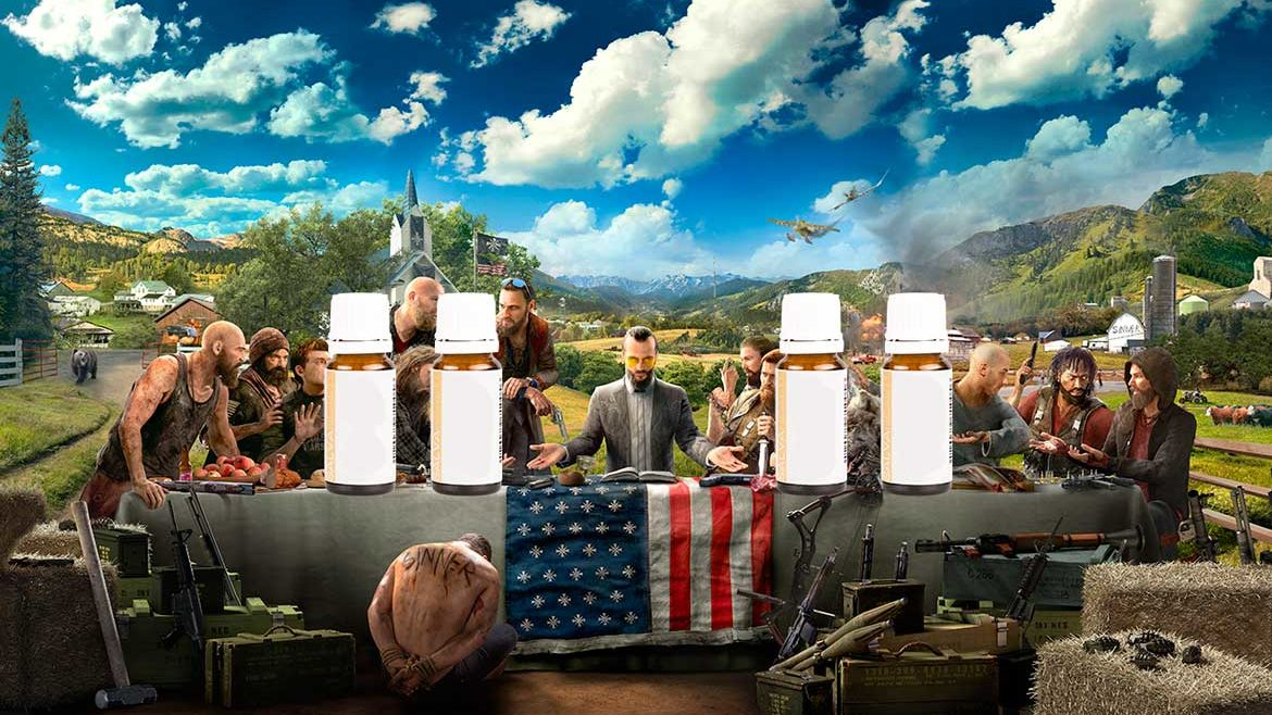 Far Cry 5: Plattform für Pseudomedizin