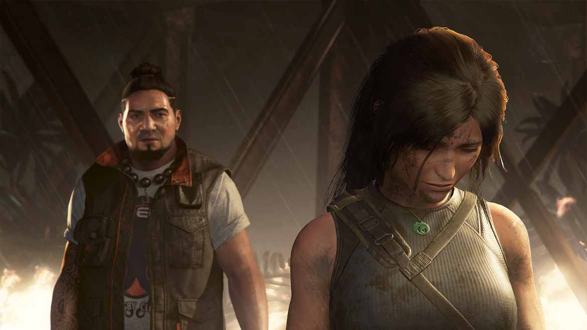 Lara kämpft in Shadow of the Tomb Raider vor allem mit der Einsamkeit