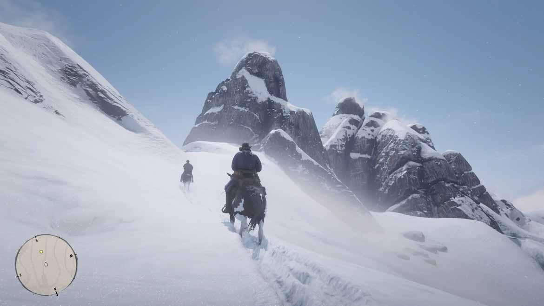 Grafisch fährt Red Dead Redemption 2 mächtige Geschütze auf