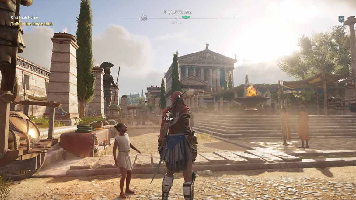 Size matters: Assassin's Creed Odyssey