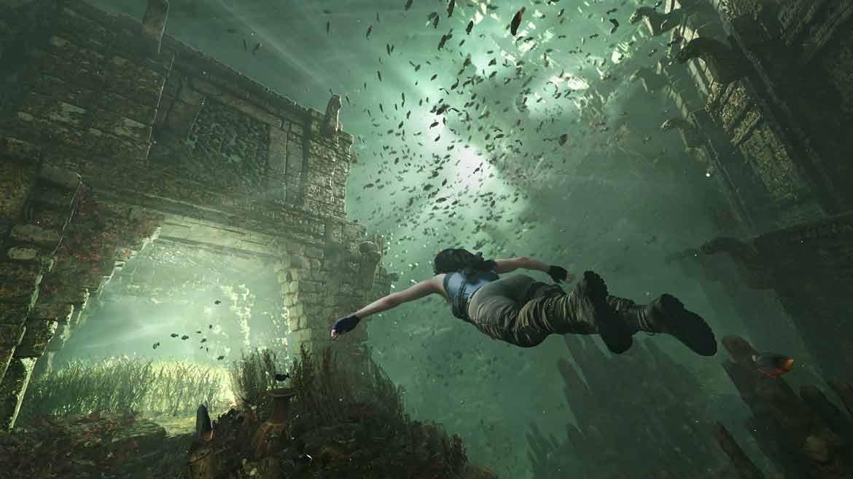 Unterwasserpassagen in Shadow of the Tomb Raider lassen uns schnell hektisch werden