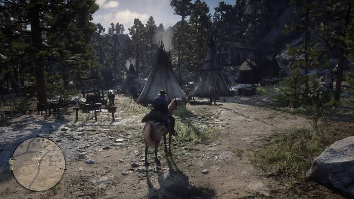 So repräsentiert Red Dead Redemption 2 Native Americans
