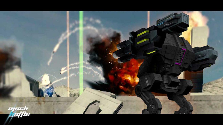 Mech Battle – Kampf der Titanen im kleinen Rahmen