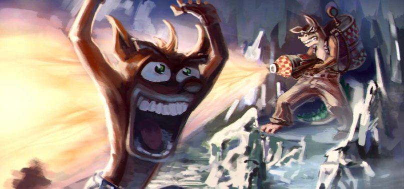 Also Starring: Dingodile (Crash Bandicoot)