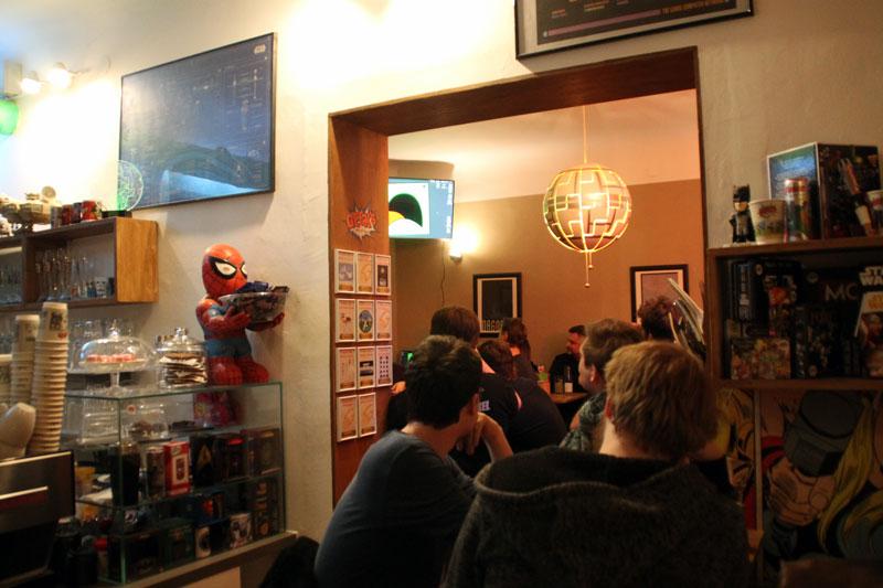 Der erste Screaming Pixel Stammtisch in Graz