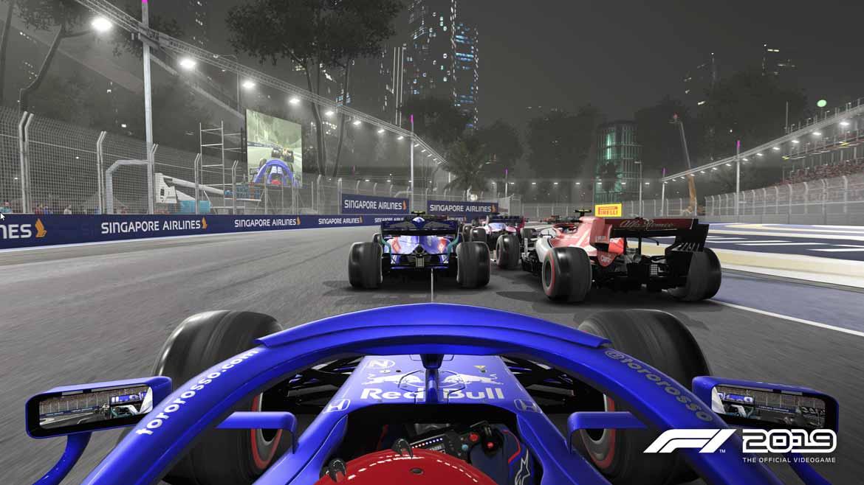 Nachtrennen sehen in F1 2019 besonders realistisch aus