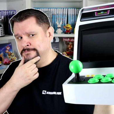 Astro City Mini: Geschichte, Unboxing & Spiele-Übersicht